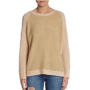 NWOT Free People Tan Sweater